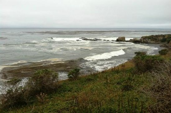 San Simeon State Park: View from the Meadows