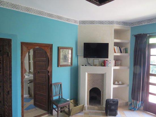 Riad El Arsat : The Blue Room