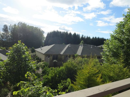 Oregon Garden Resort: View from our private patio