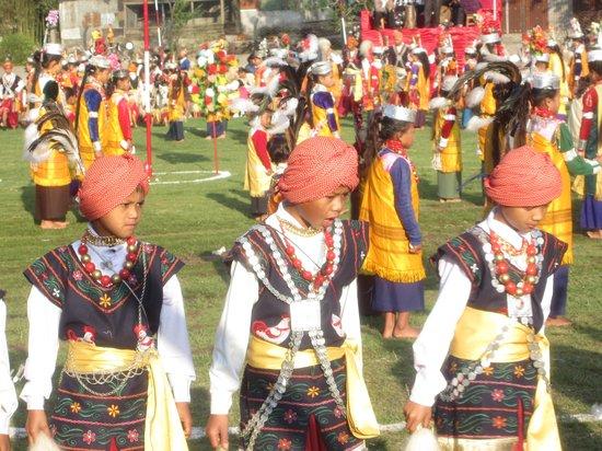 Meghalaya, India: Sen Khasi Dance festival