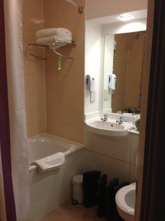 Premier Inn Glasgow City Centre (George Square) Hotel: en suite