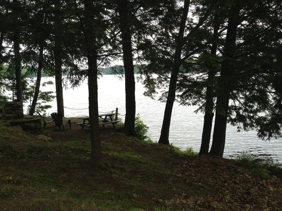 Black Lake Cabins: Firepower for cabin 9