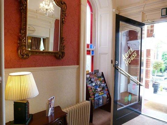 Ariel House: Entrance Hall