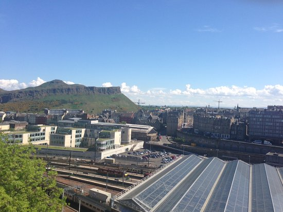 Princes Street Suites: view from the roof terrace