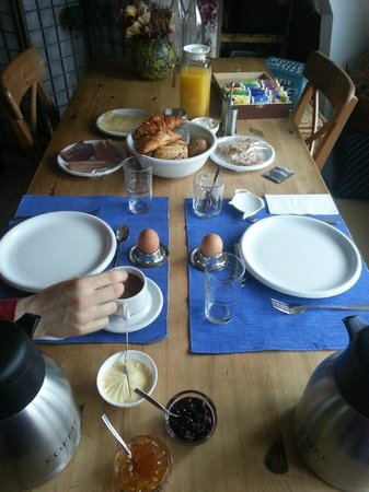Harkema, The Netherlands: Breakfast