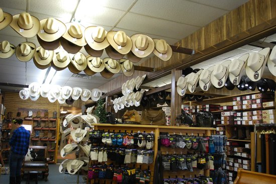 Variety of boots and hats - Review of Wayne s Boot Shop 5df150ec20d