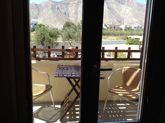Smaragdi Hotel: Balcony