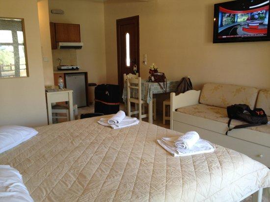 Smaragdi Hotel: Deluxe studio