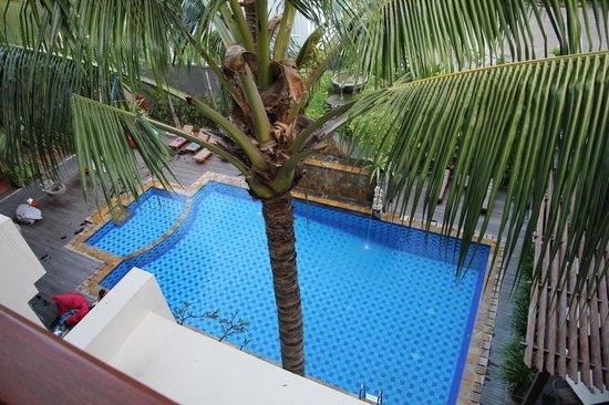 The Vira Bali Boutique Hotel & Suite: Вид из номера