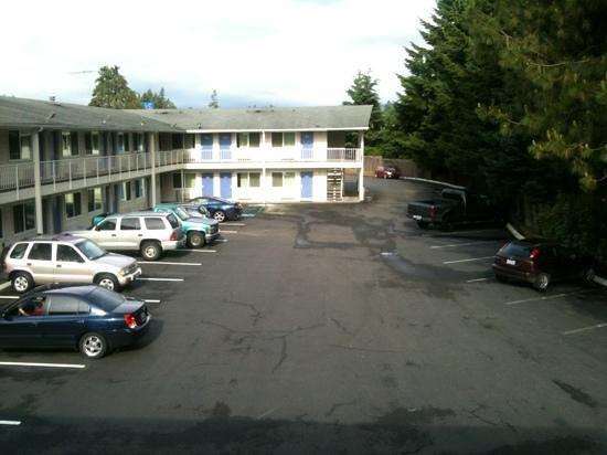 Motel 6 Tumwater - Olympia: außenansicht