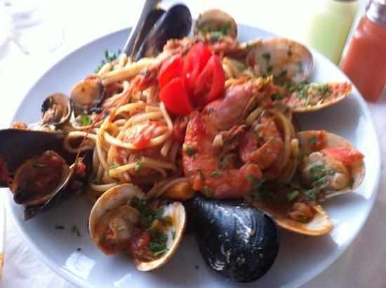 Apanemia : fishermans spagetti- mycket gott!