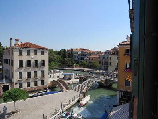 Vue De C 244 T 233 Picture Of Hotel Olimpia Venice Venice