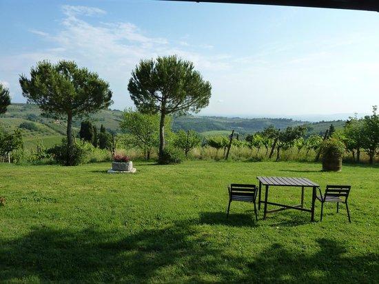 Agriturismo Sovigliano : View from Loggia