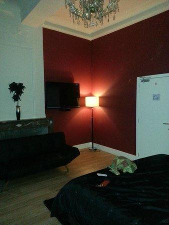 Hotel Onderbergen: Mood lighting
