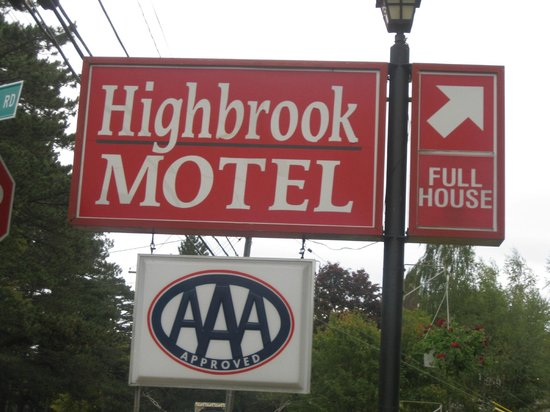 The terrific Highbrook Motel, Bar Harbor, ME