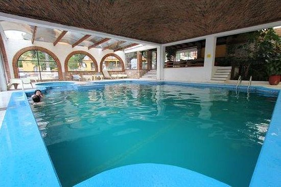 Hotel Villa de la Plata: Indoor Pool