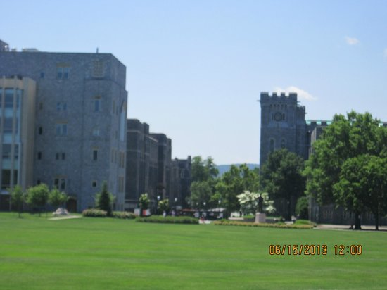 West Point Tours: Parade ground and buildings, USMA