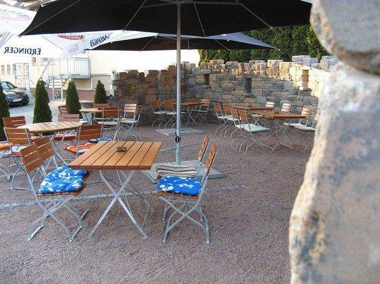 Hotel Sonnenhof: Terrace/ Garden