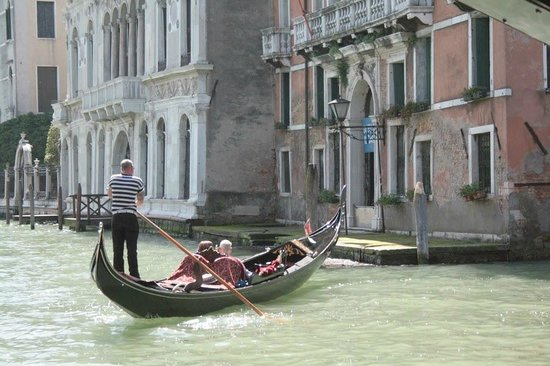 "Hotel Galleria: We were ""on"" the Grand Canal -- what a great spot we had!"
