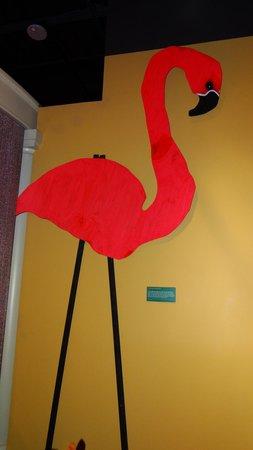 Capitol Park Museum: Spanish Town Mardi Gras Flamingo