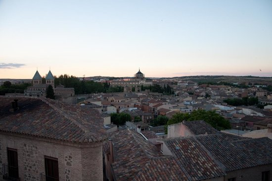 Hotel Abad Toledo : View from top room 2