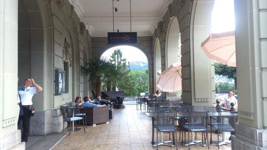 Restaurant Casino Bern: Casino: arcade café