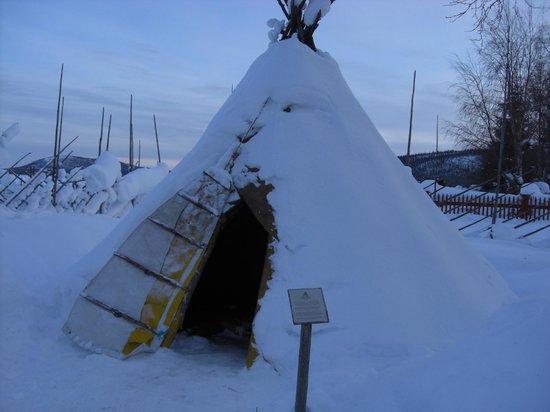 Sámi Siida - Márkanbáiki : Part of the Sami museum