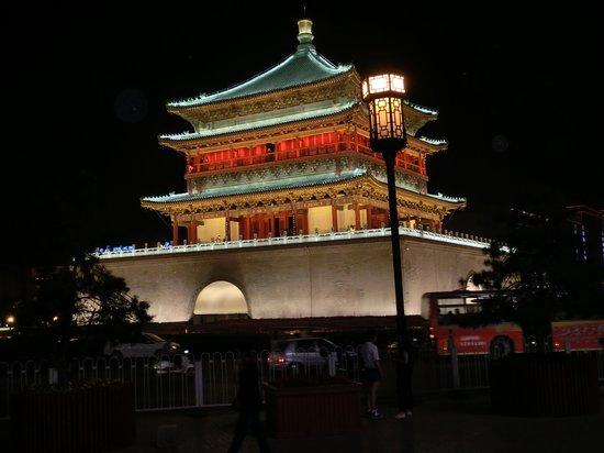 Grand Noble Hotel: Centralt i Xian ligger denna pagod