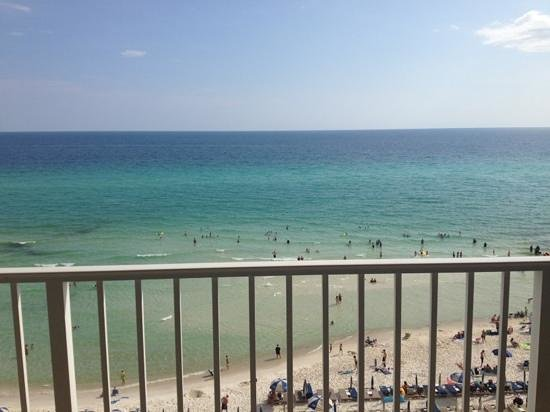Tidewater Beach Resort: 612 balcony.