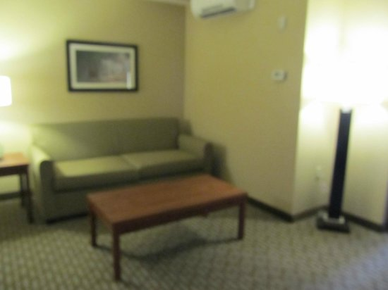 Bicycle Street Inn & Suites and Waterfront Collection : living room