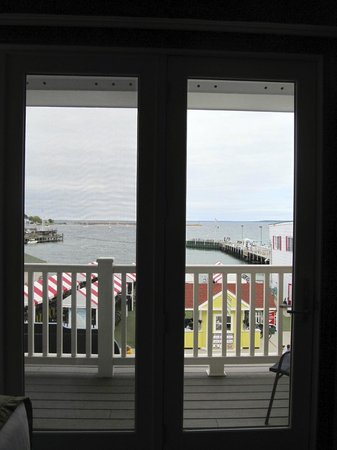 Bicycle Street Inn & Suites and Waterfront Collection : view -- doors with optional screen door