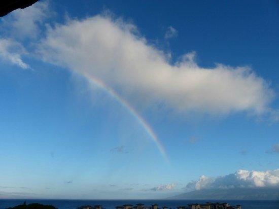 The Kapalua Villas, Maui: Morning view from the balcony