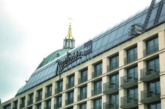 Radisson Blu Hotel, Berlin: alo lado da Catedral de Berlin