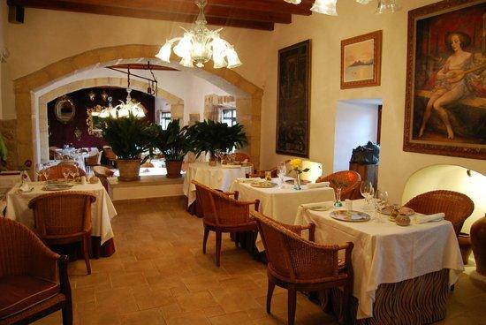 Hotel Rural S'Olivaret : comedor
