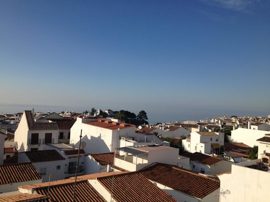 Hotel Casa Rosa : View from the terrace (2nd floor)