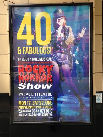 Palace Theatre: Outside Sign: Rocky Horror Picture Show