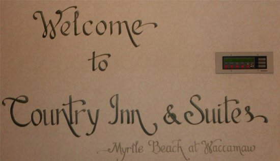 Country Inn & Suites By Carlson, Myrtle Beach: Artwork welcomes you as soon as you step inside