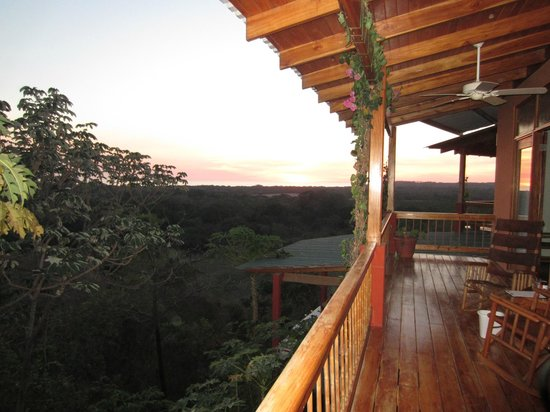 Costa Rica Yoga Spa : Looking over the Pacific from the room
