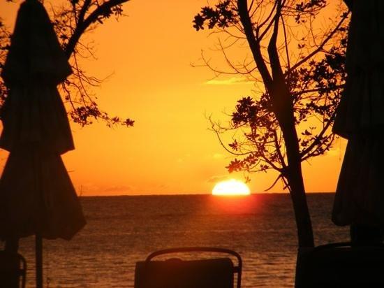 Sandals South Coast: sunset