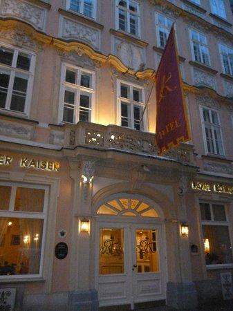 Schlosshotel Roemischer Kaiser: Muy acogedor en su estilo.