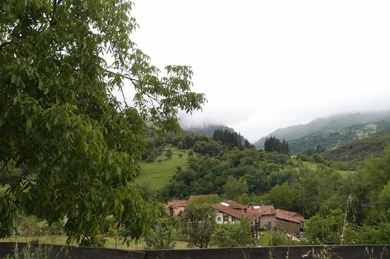 Posada Las Espedillas: the views...