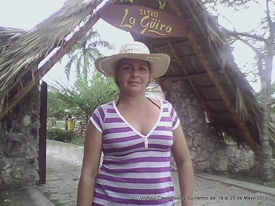 Sitio La Guira: LA ENTRADA