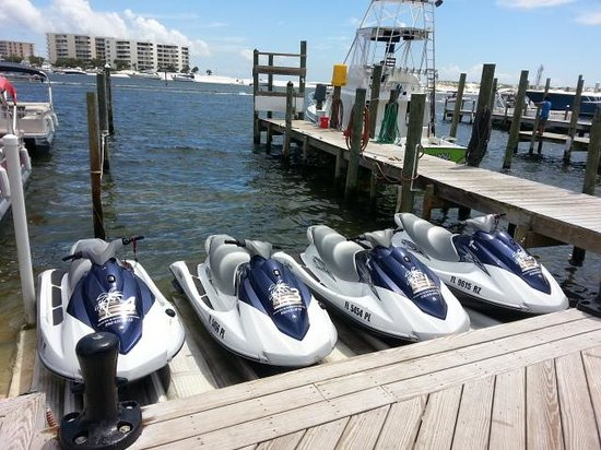 Crab Island Picture Of Luther S Pontoon Waverunner Kayak