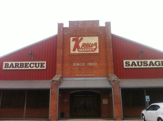 Kreuz Market: The new location