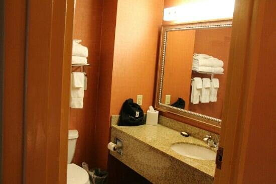 Embassy Suites by Hilton Hampton Hotel Convention Center & Spa: Spacious countertops