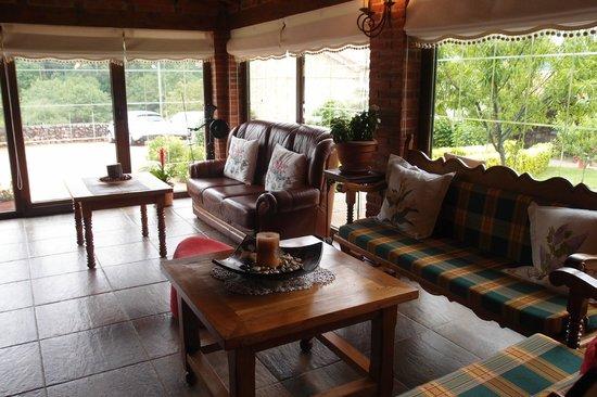 Posada Herran: salon / breakfast room - tranquil