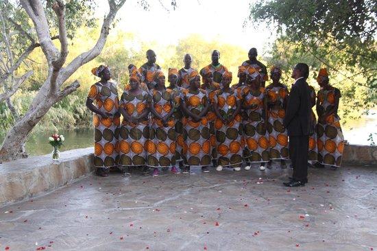 Islands of Siankaba: Choir at my parent's anniversary celebration