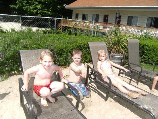 Motel Montreal: The grandchildren enjoyed the pool