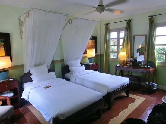 Villa Maly: Beautiful rooms... very comfy beds.