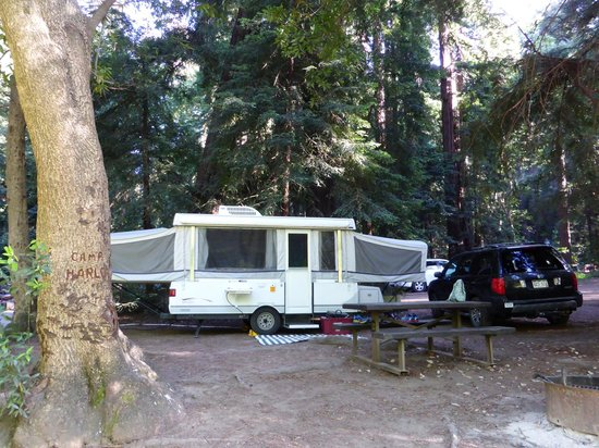 Big Sur Campground & Cabins: campsite